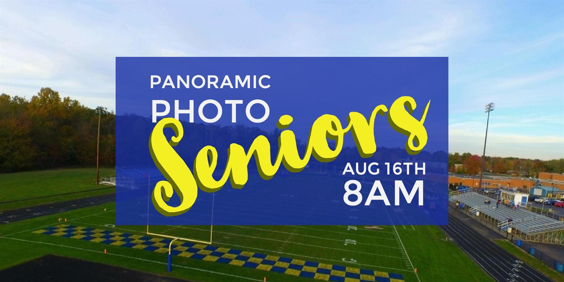 Senior Class Photo Announcement