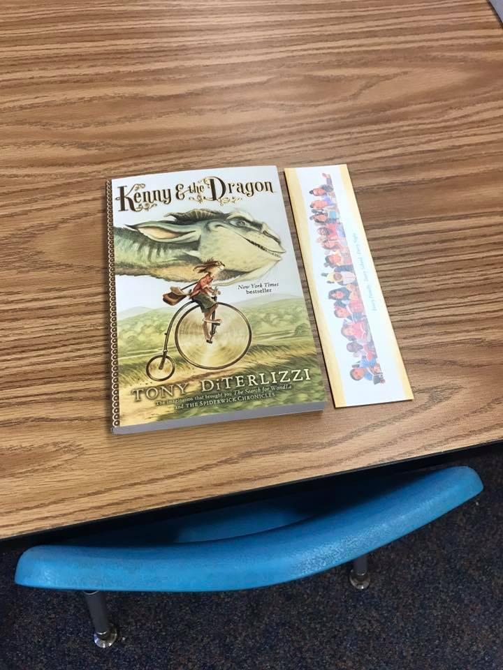 The book, Kenny and the Dragon