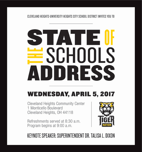 State of the Schools Electronic Invitation