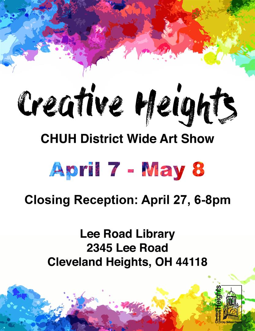 Creative Heights flyer