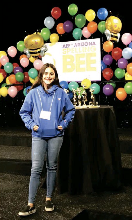 Zarrin Askari State Spelling Bee photo