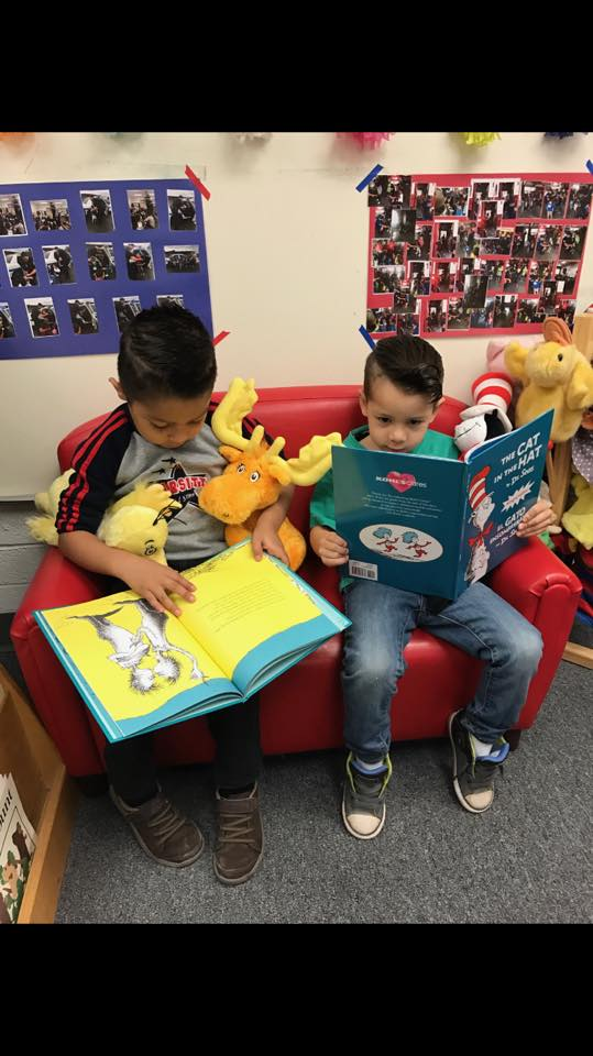 preschool boys reading