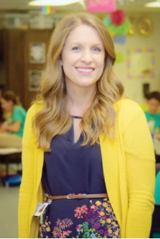Jessica Casey 2017 Teacher of the Year
