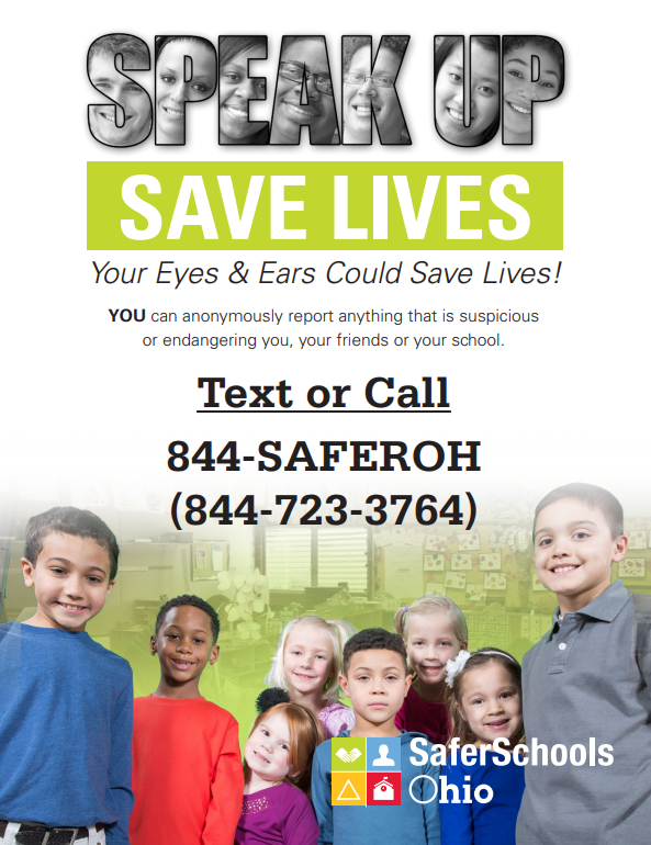 Speakup Save Lives Poster