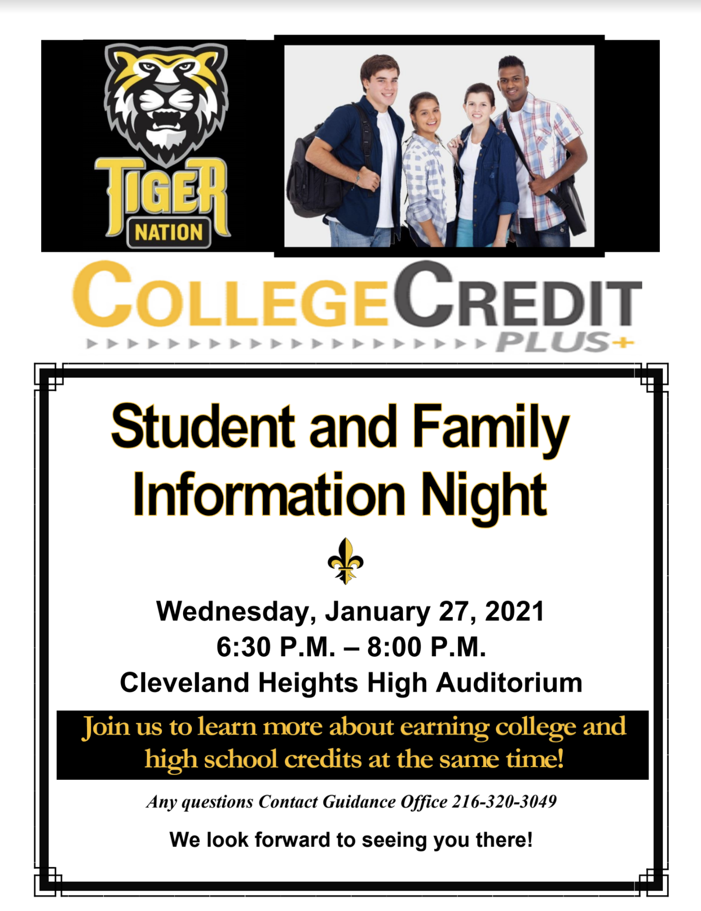 College Credit Plus Flyer 2021