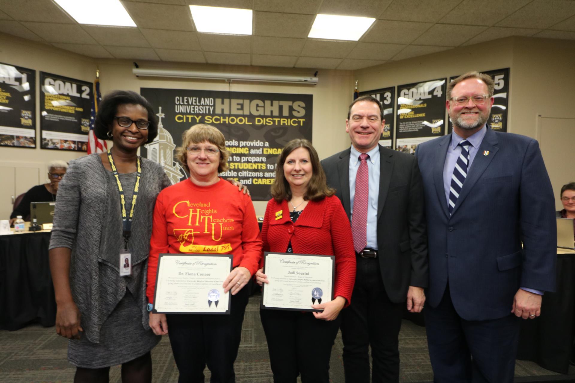 Civic Award Winners