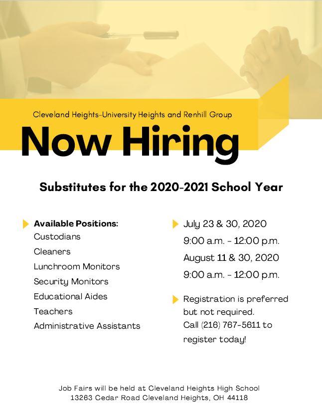 Renhill Job Fair 2020