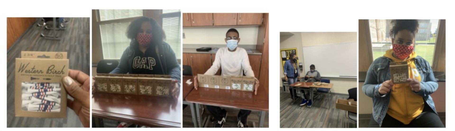 Student Work Experience Photos