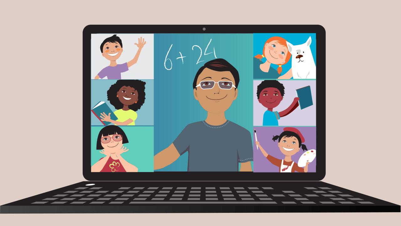 Google Meets Online Classroom