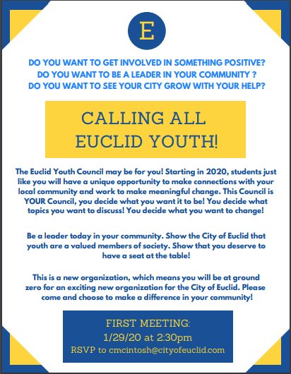 Euclid Youth Council