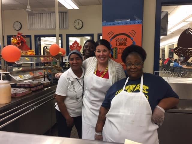 Cooks and high school principal