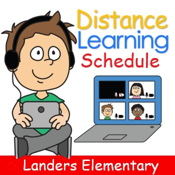 Clock- Link to Distance Learning schedules
