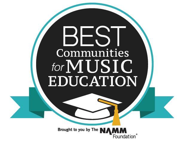 NAMM Best Music Program Logo
