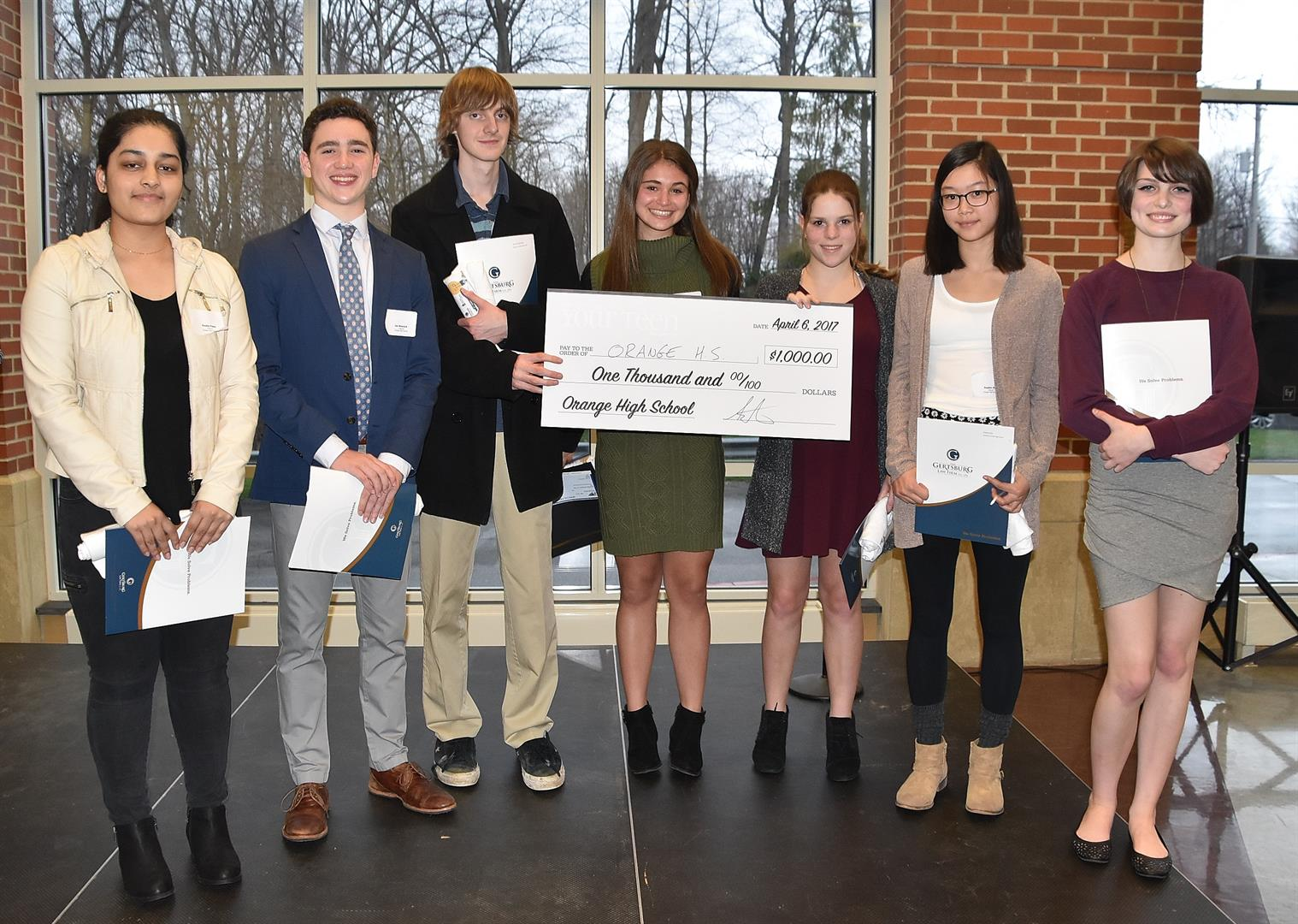 Seven OHS Essay Contest Winners