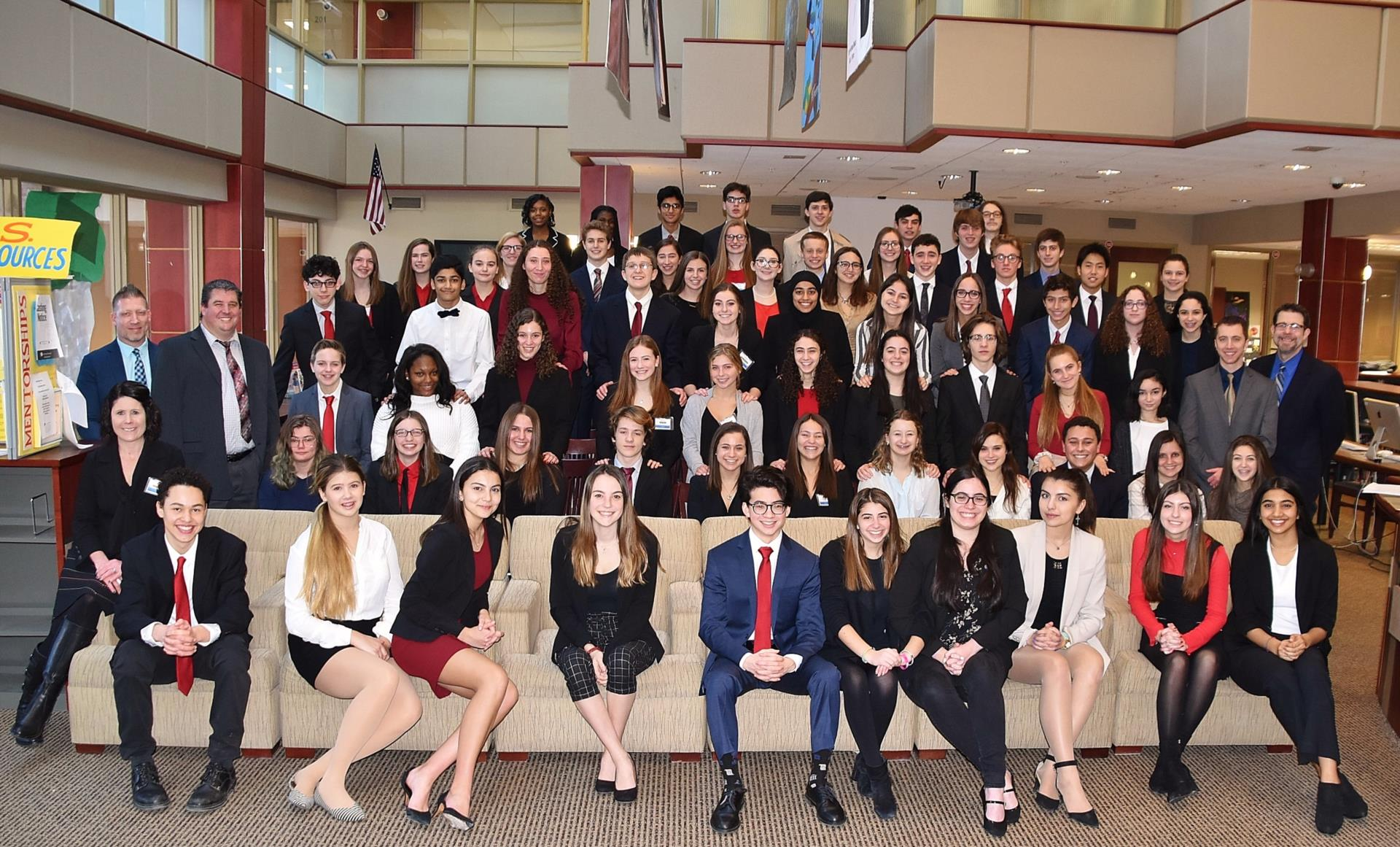 All members of OHS Mock Trial Team