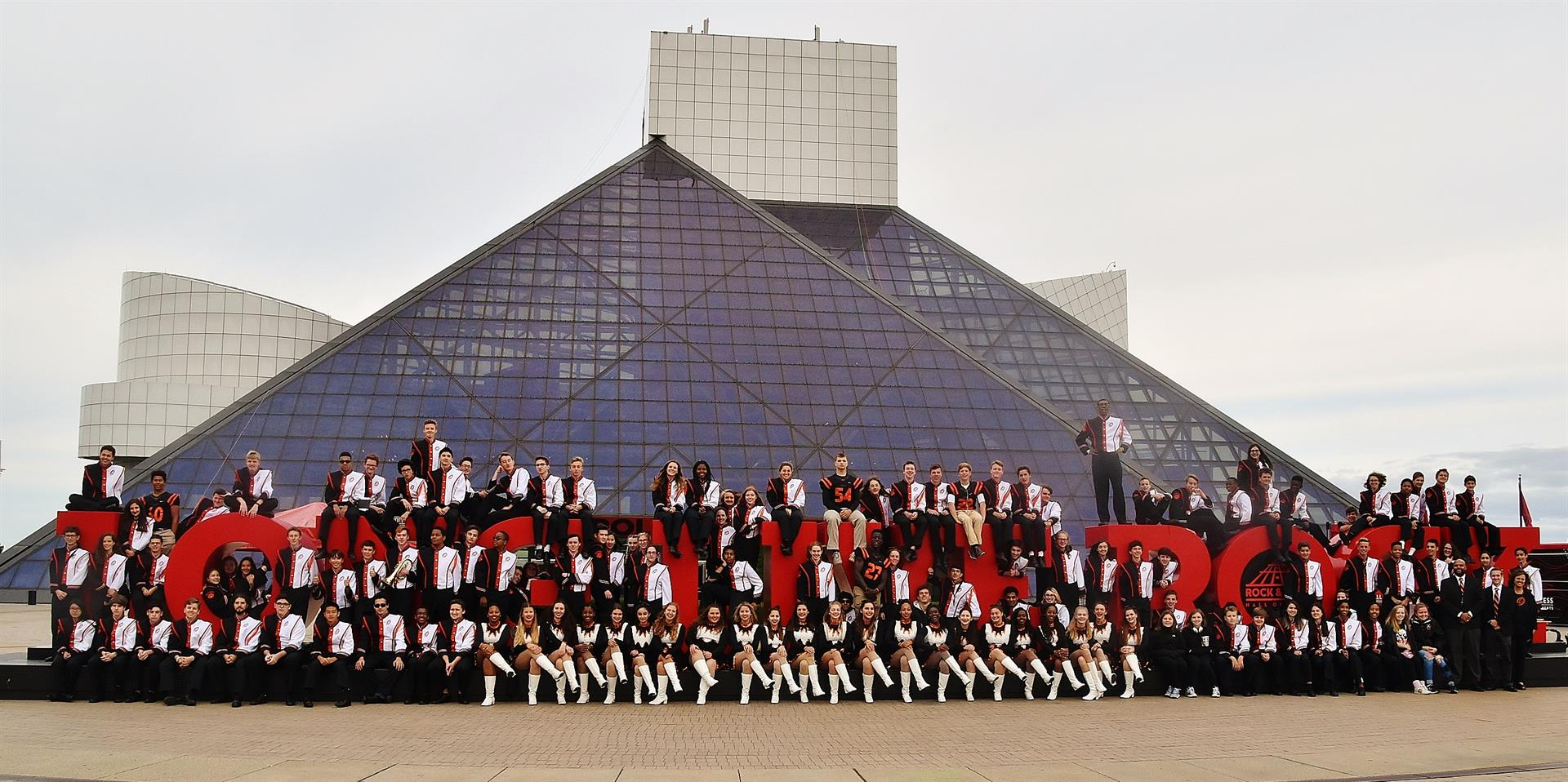 OHS Band at Rock Hall