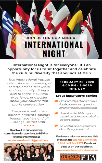 MHS International Night Flyer w PDF link