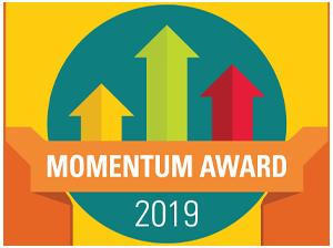 ODE Momentum Award logo