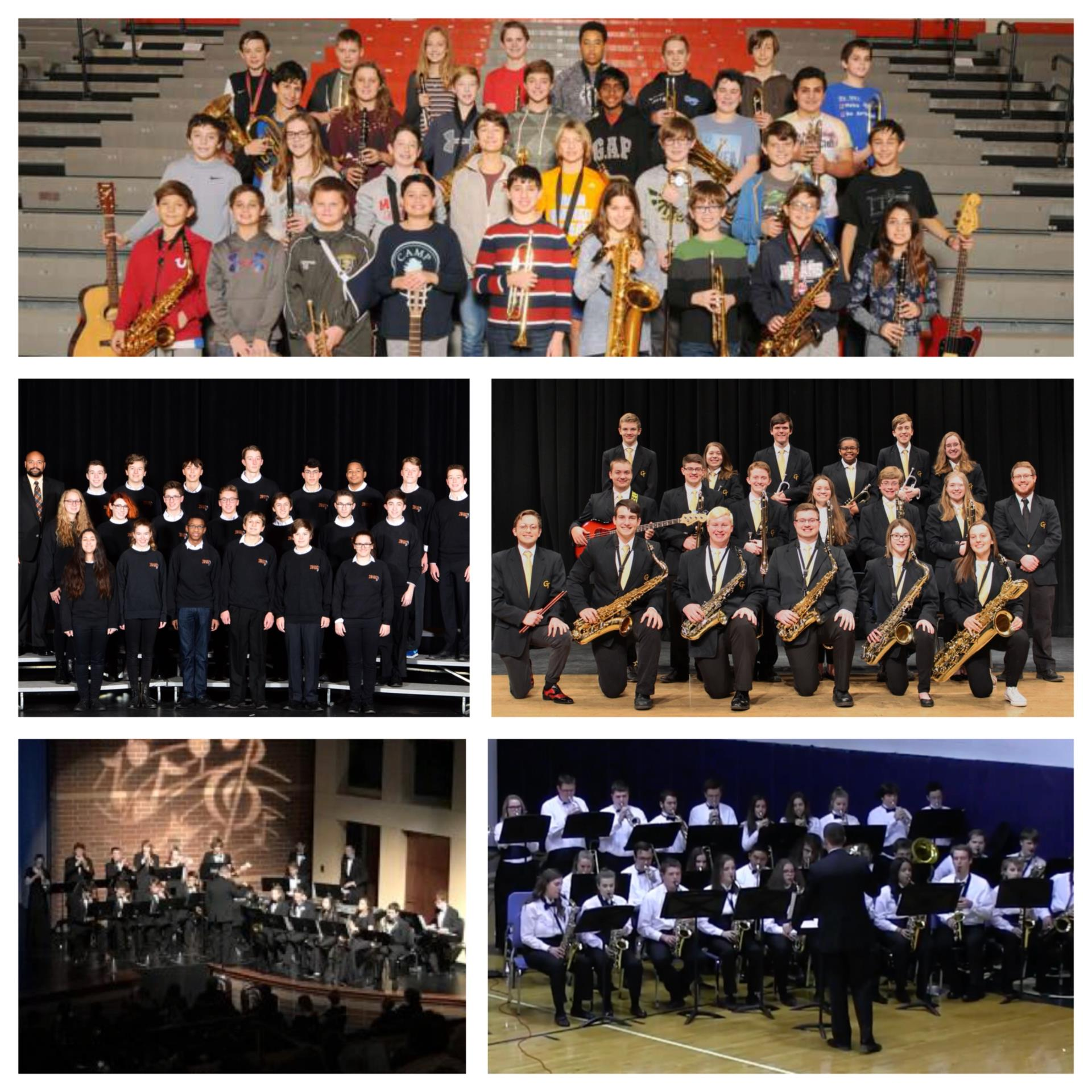Jazz Band Collage