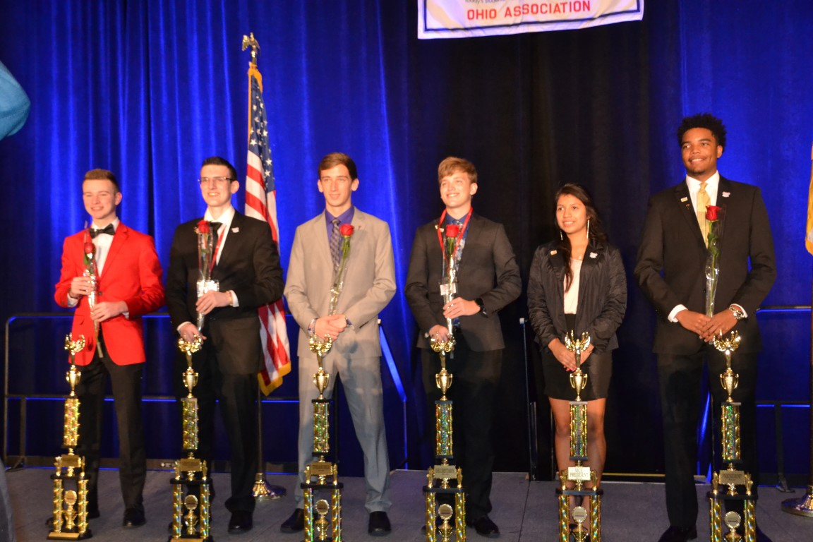 2016 state officers for Ohio Business Professionals of America