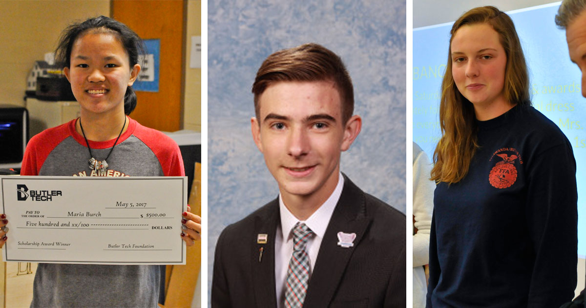 Transforming Lives Scholarship Winners