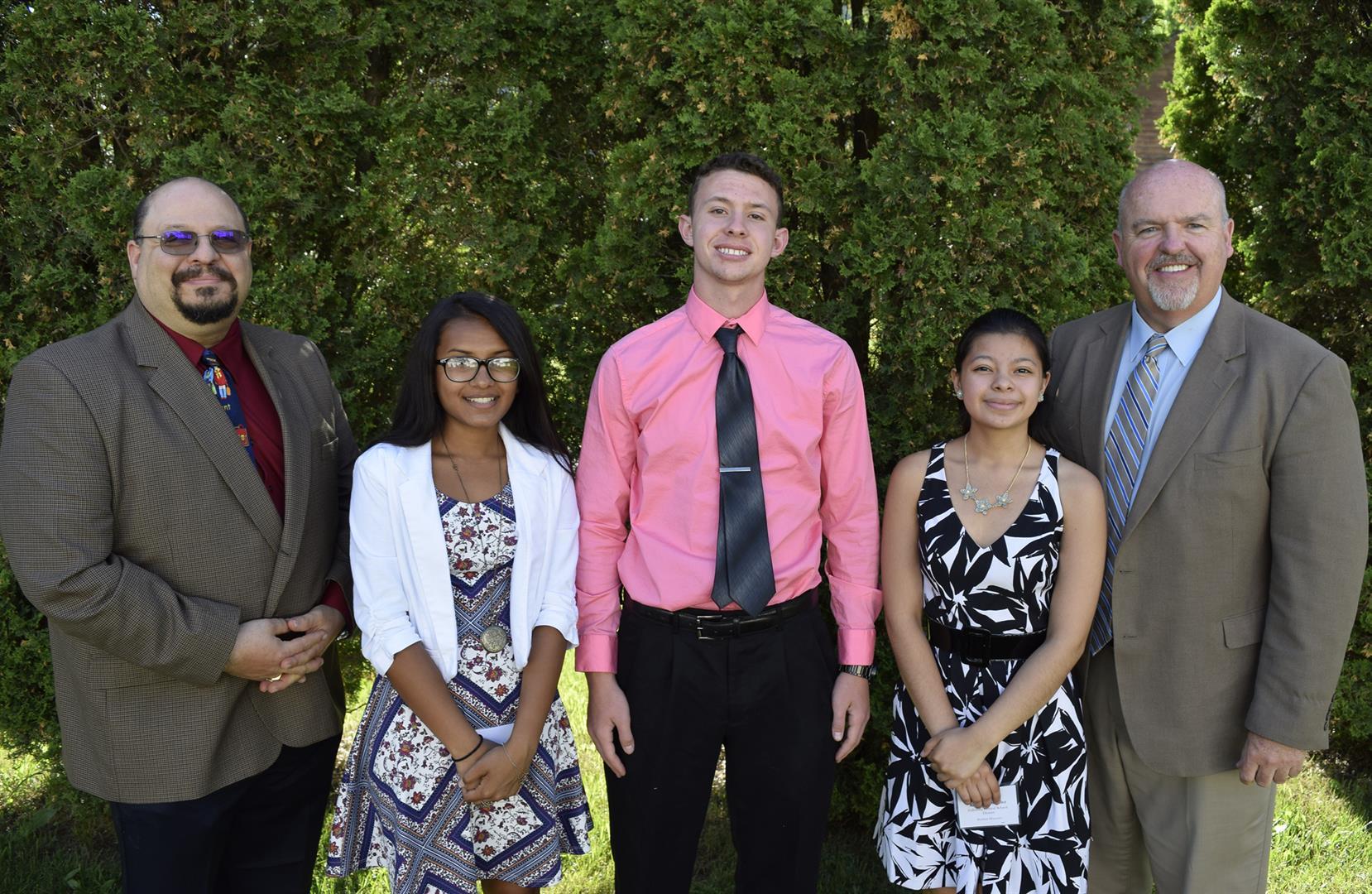 Fallsburg Seniors Receive Award