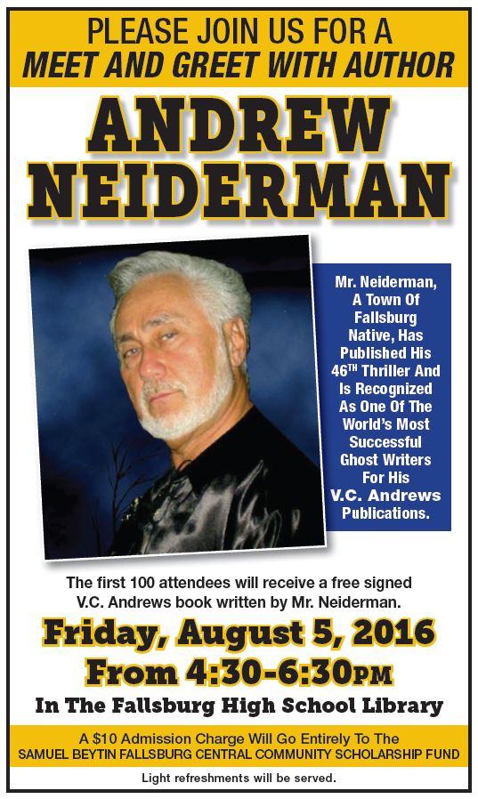 Neiderman visit