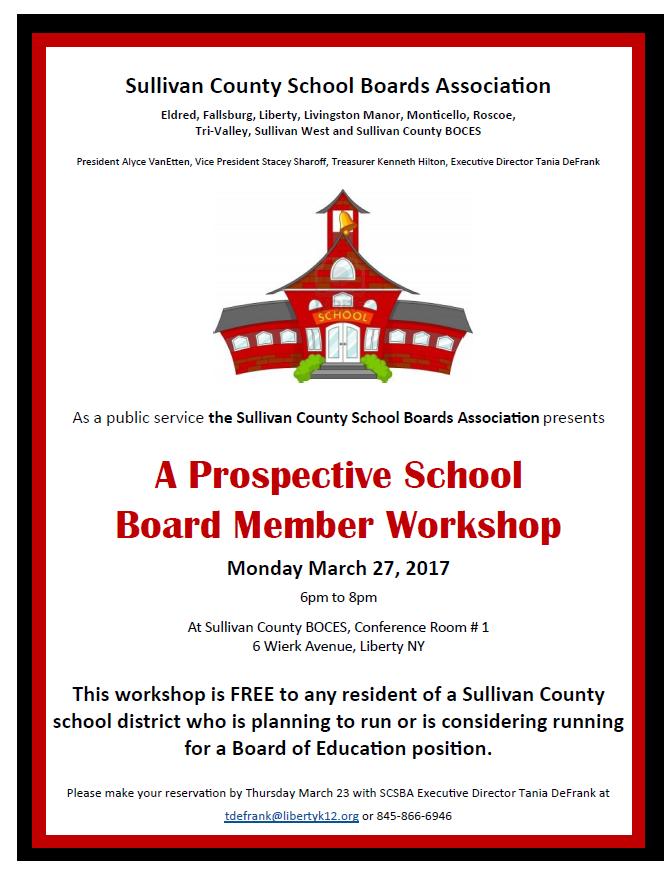 Board Workshop