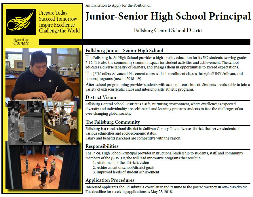 High School Principal
