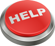 Red Help Desk Button Icon
