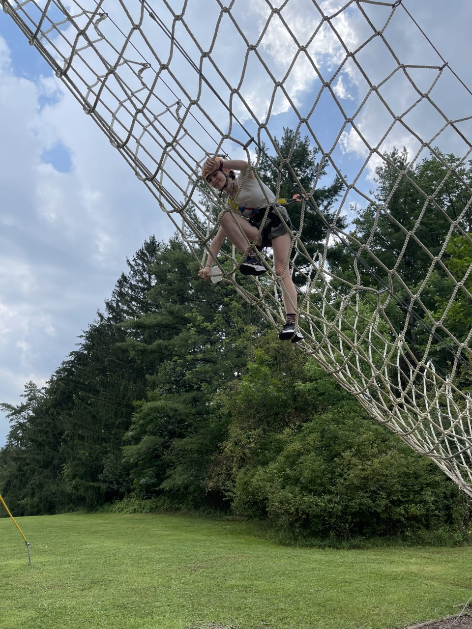 HUDDLE Student Climbing Rope Ladder