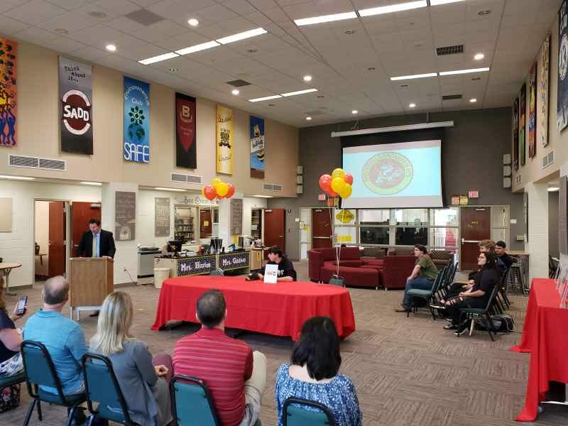 BBHHS Career Signing Day Ceremony