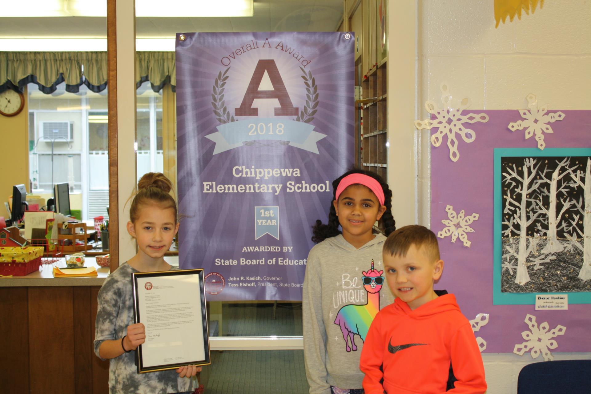 Chippewa Elementary Award