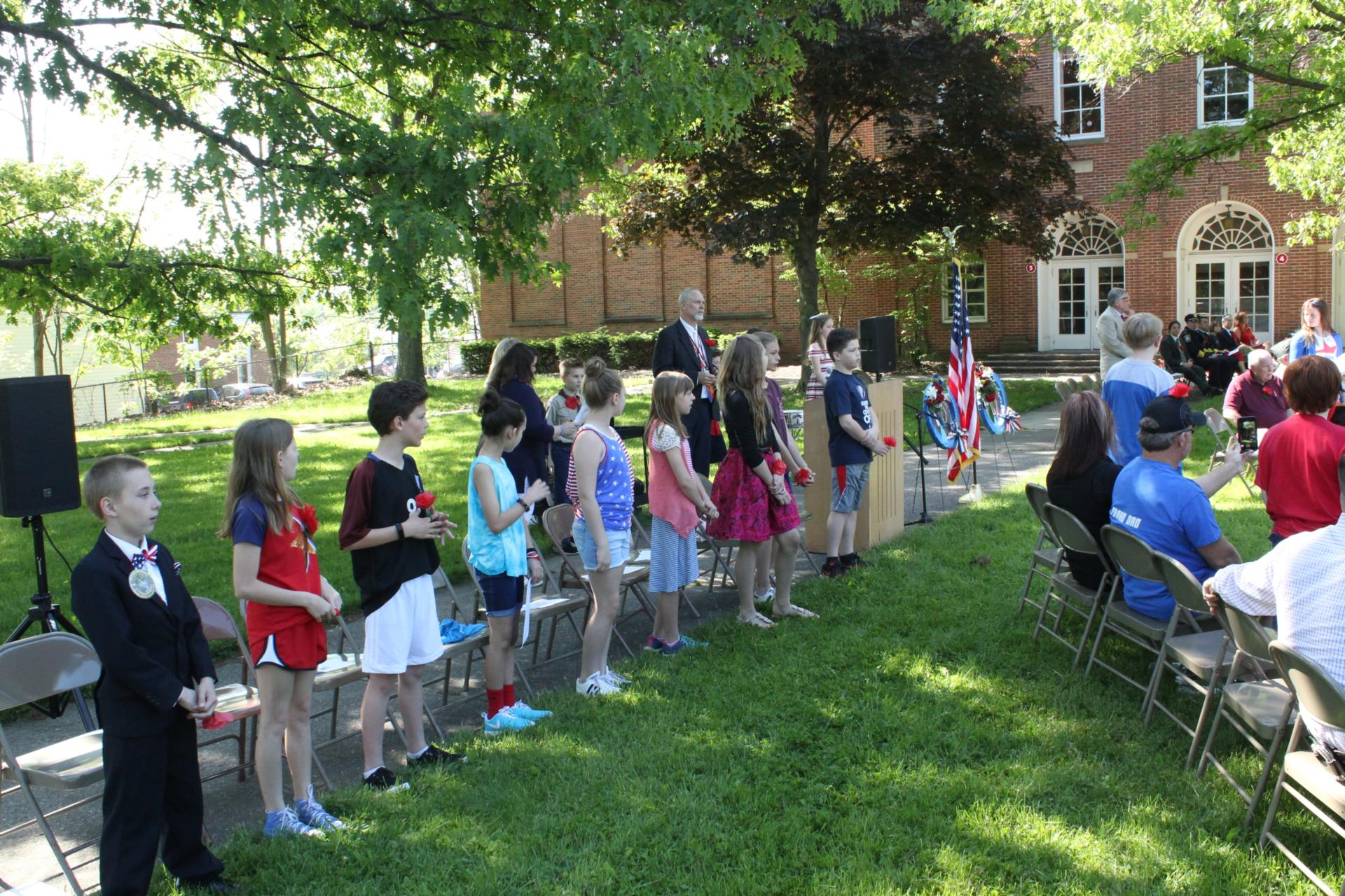 Central School Honors military veterans