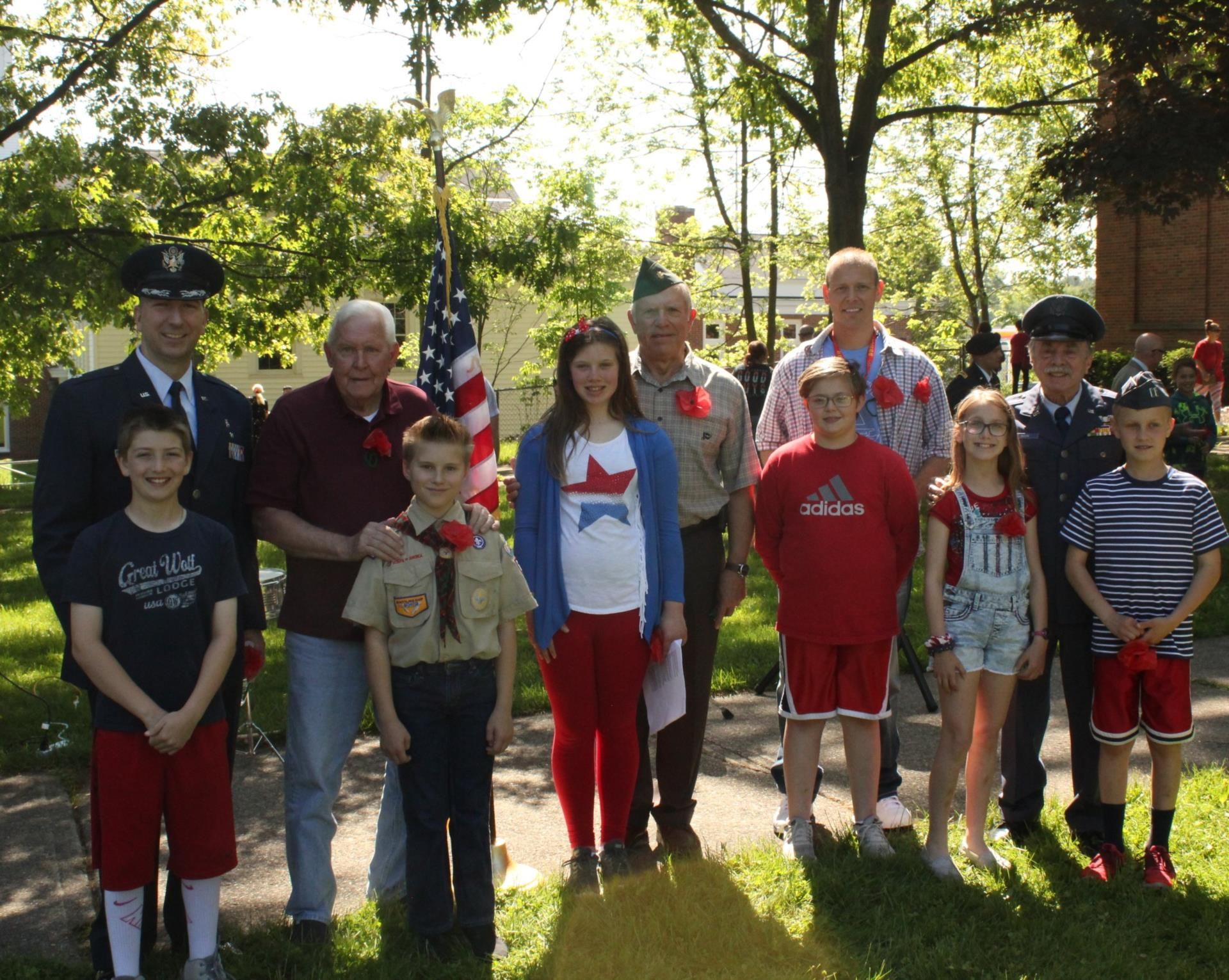 Central School Honors Veterans