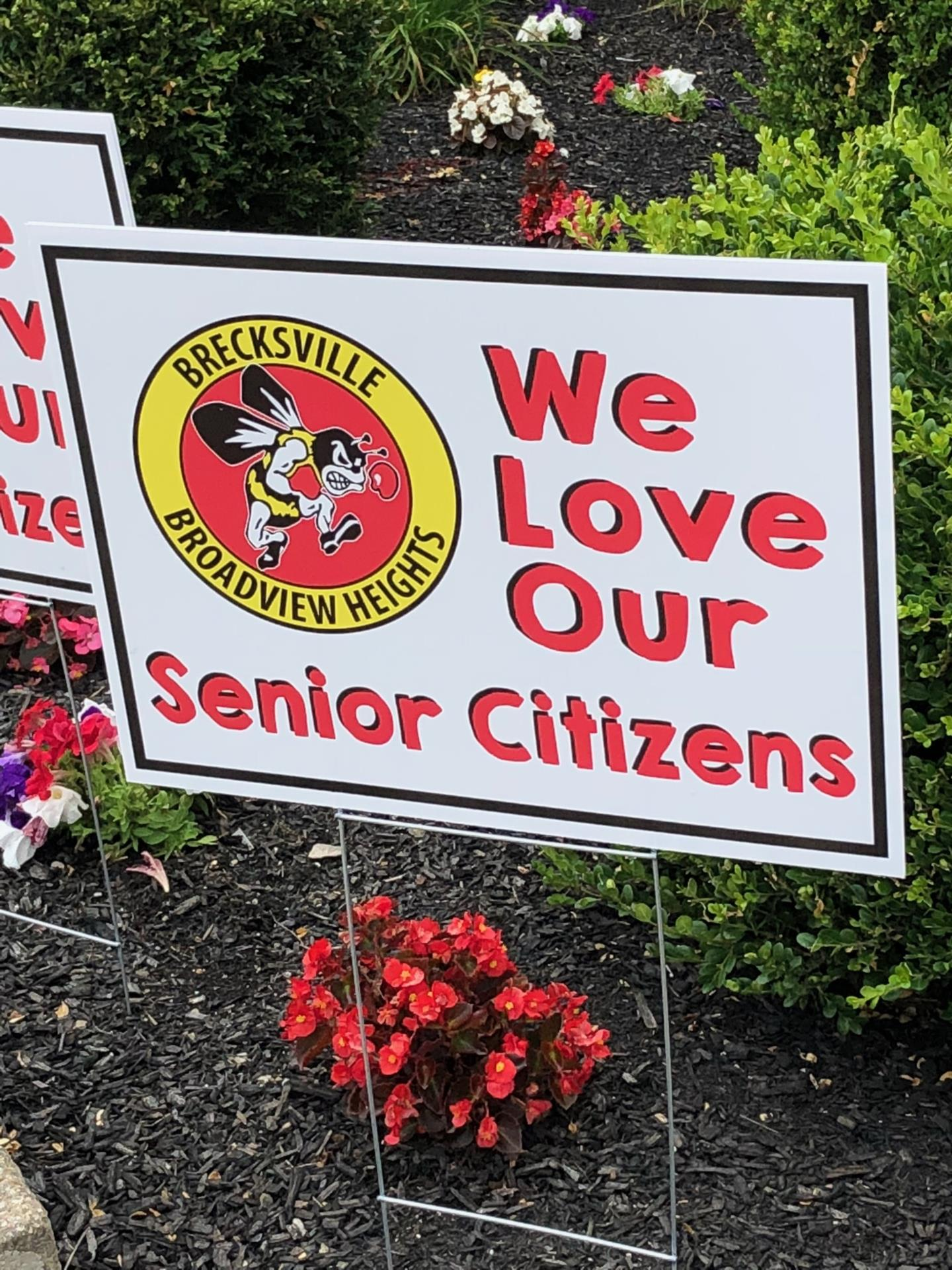 We Love Our Senior Citizens