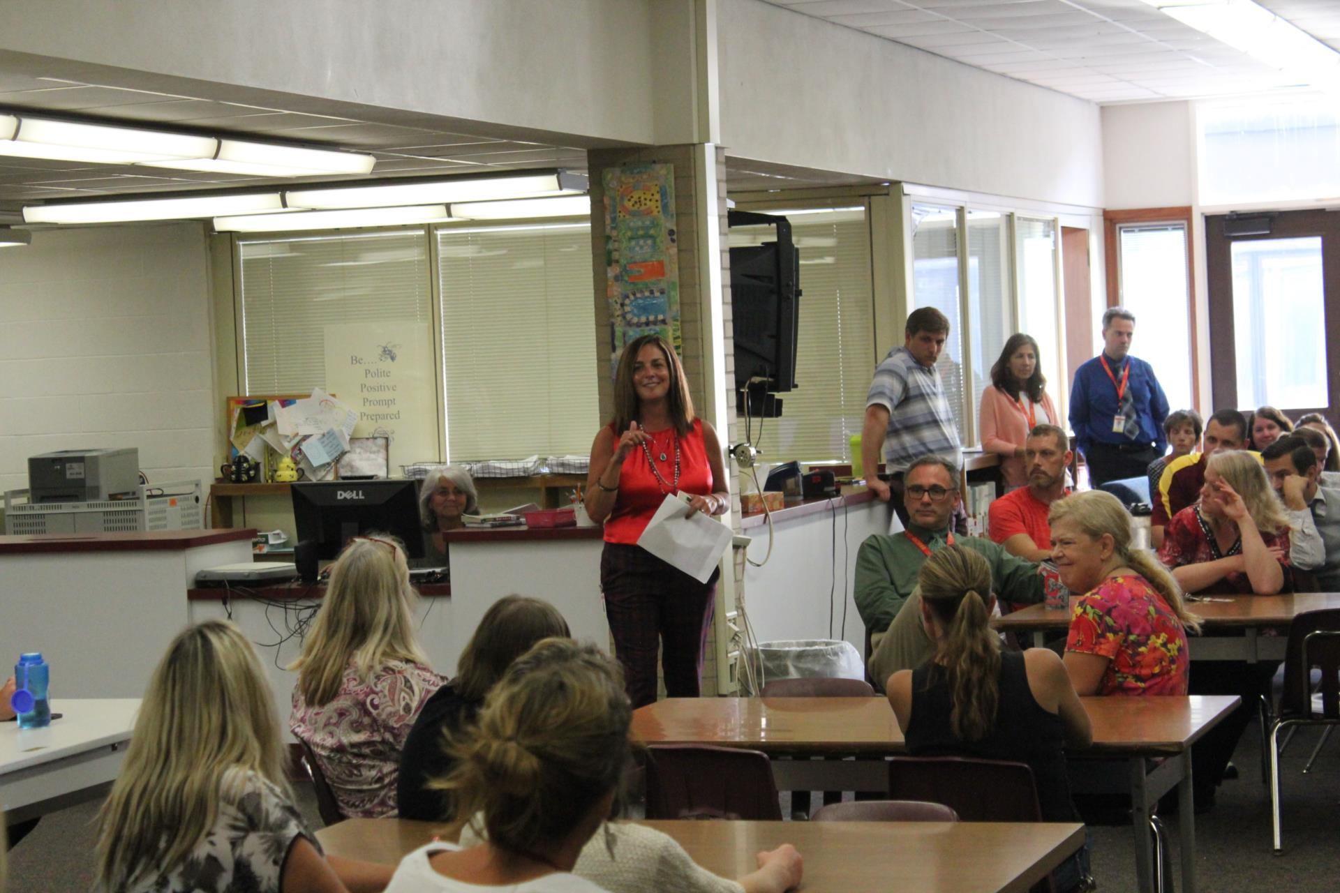 Superintendent Addresses MS