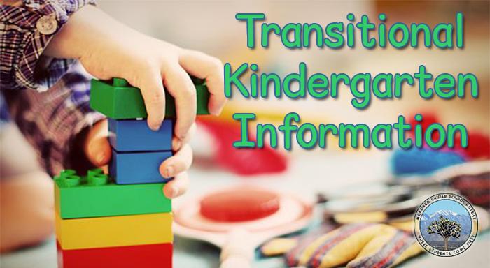 Photo for transitional kindergarten information