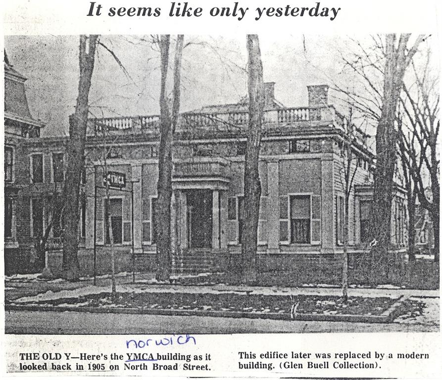 Picture of old YMCA