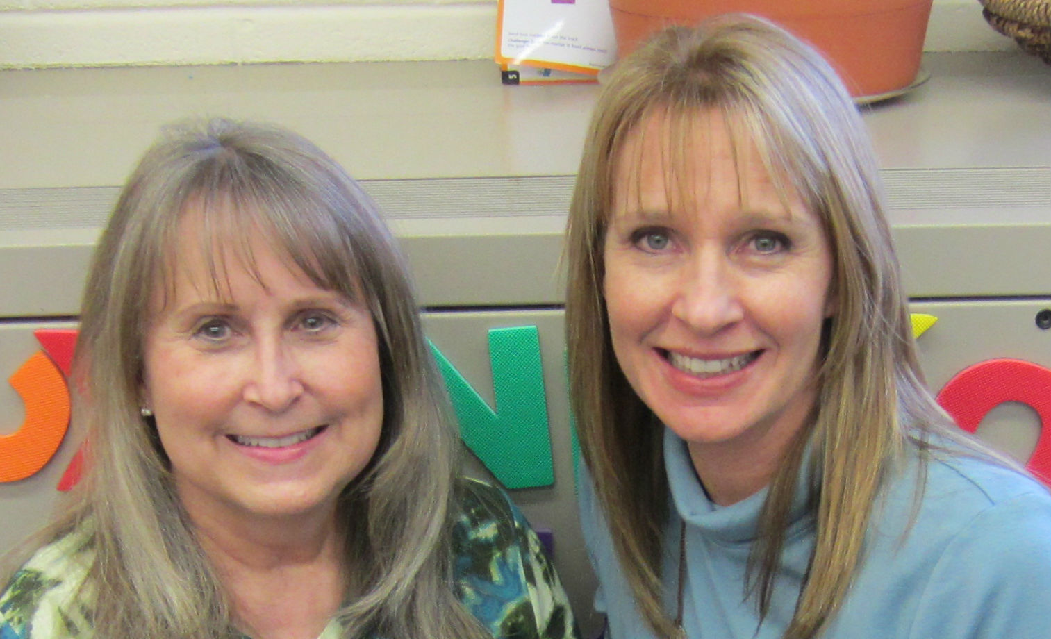 Photo of Cindy Horton and Liz Springer