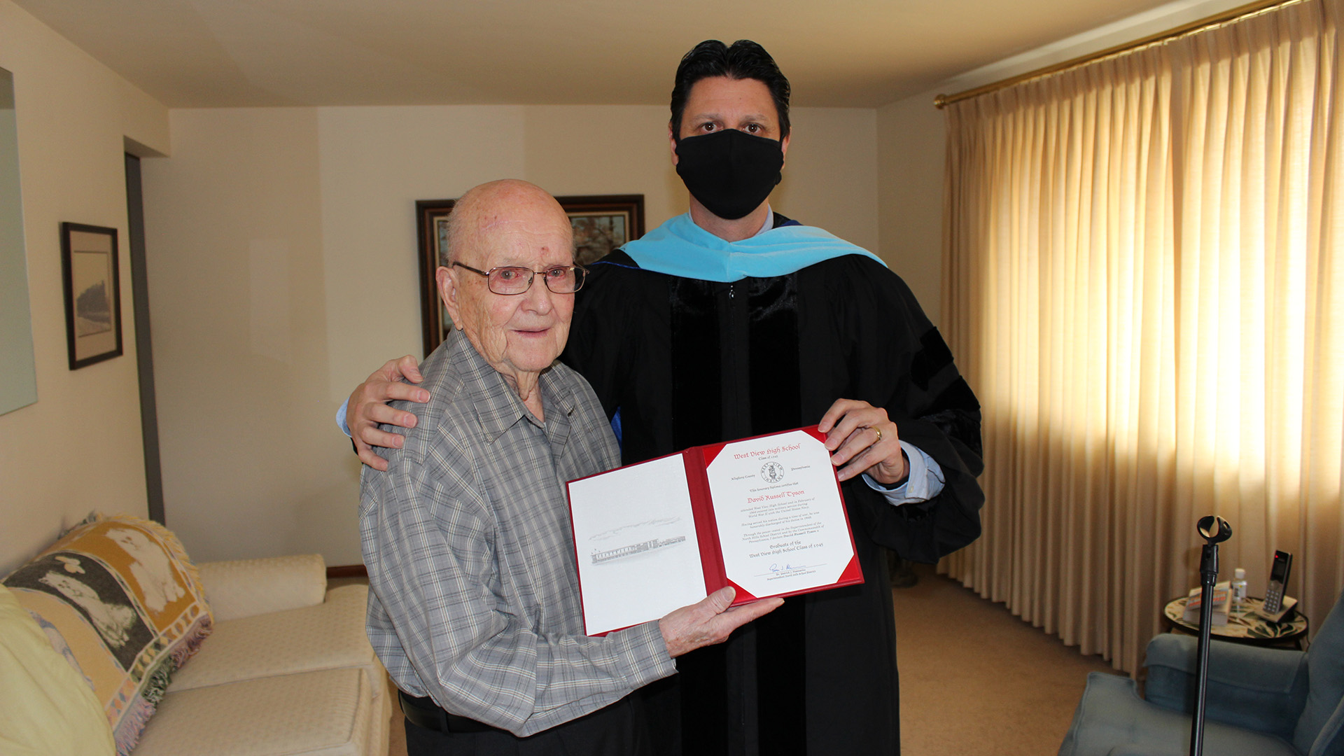 David Russell Tyson and Dr. Mannarino