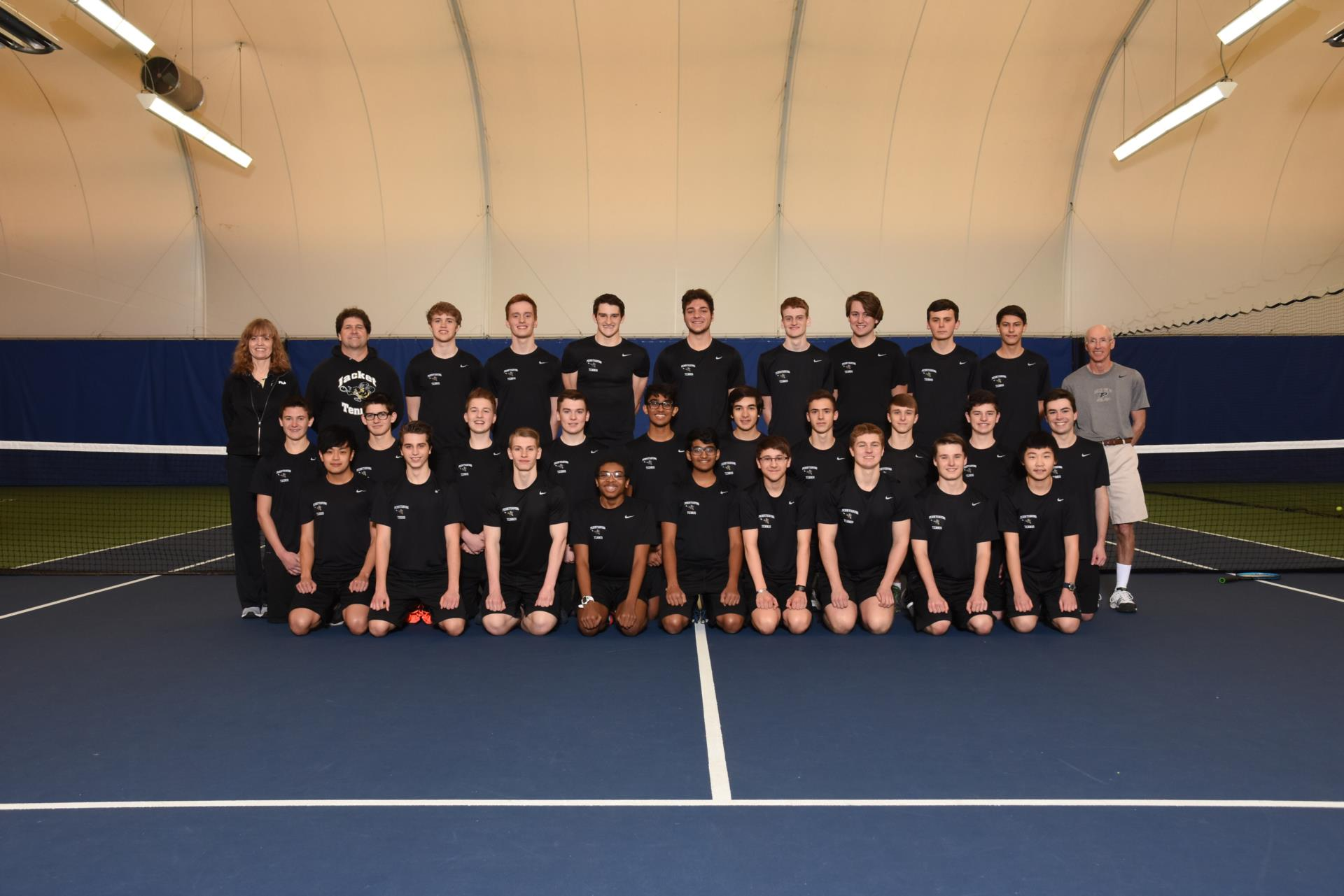 PHS Boys Tennis Team Photo