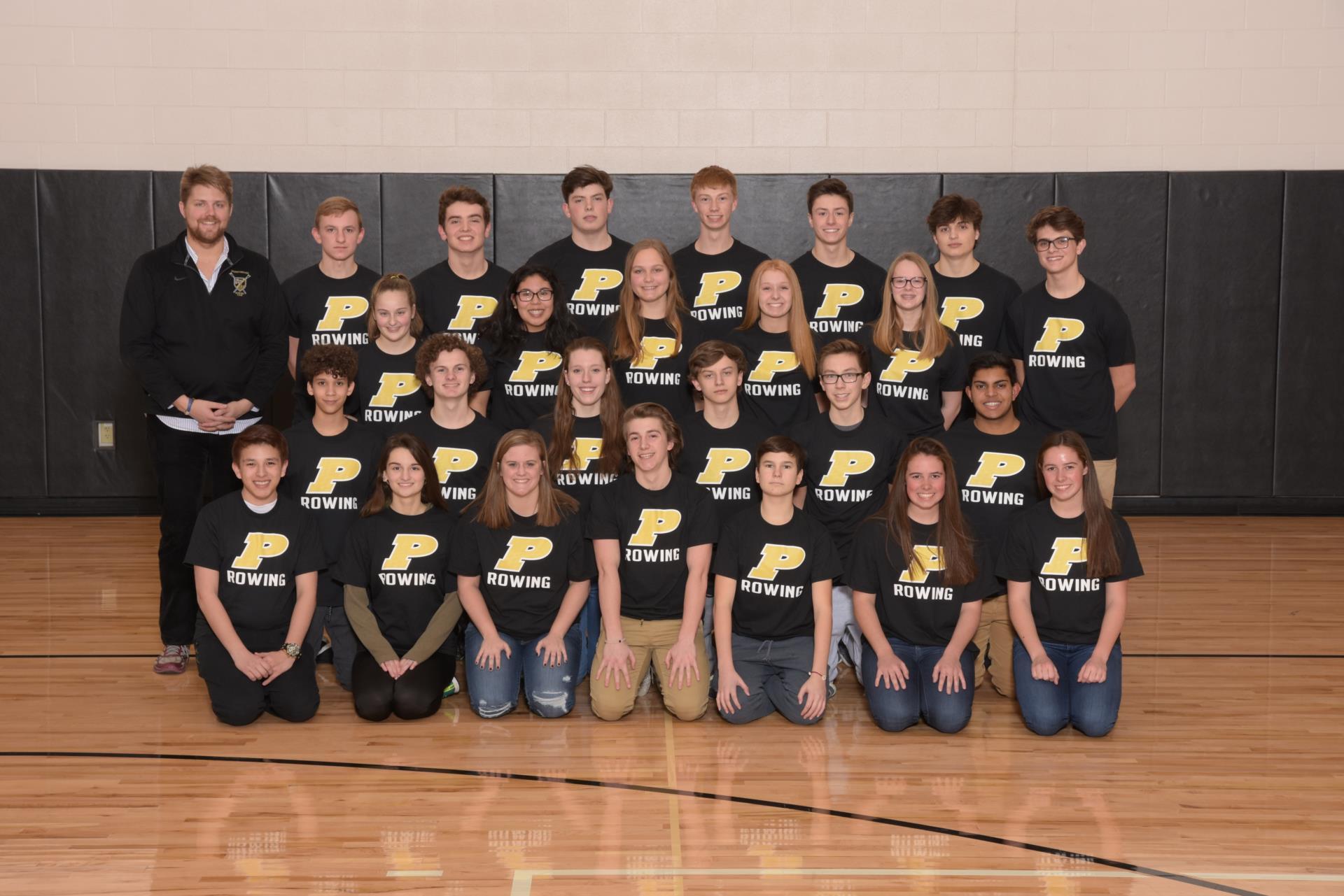 PHS Rowing Team Photo