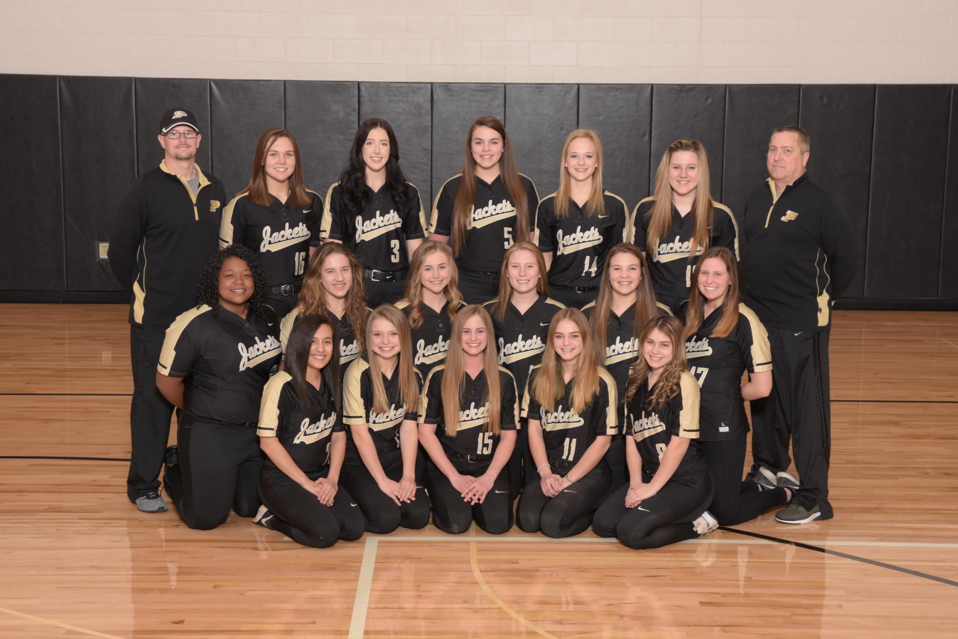 PHS Softball Team Photo