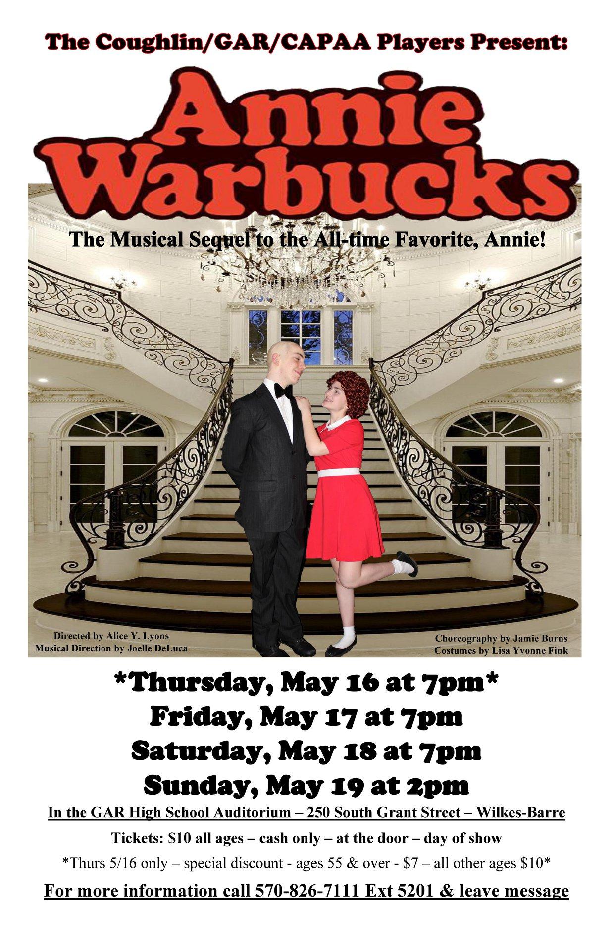 Annie Warbucks Poster