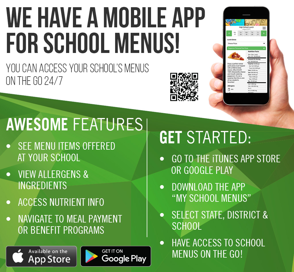 My School Menu App graphic