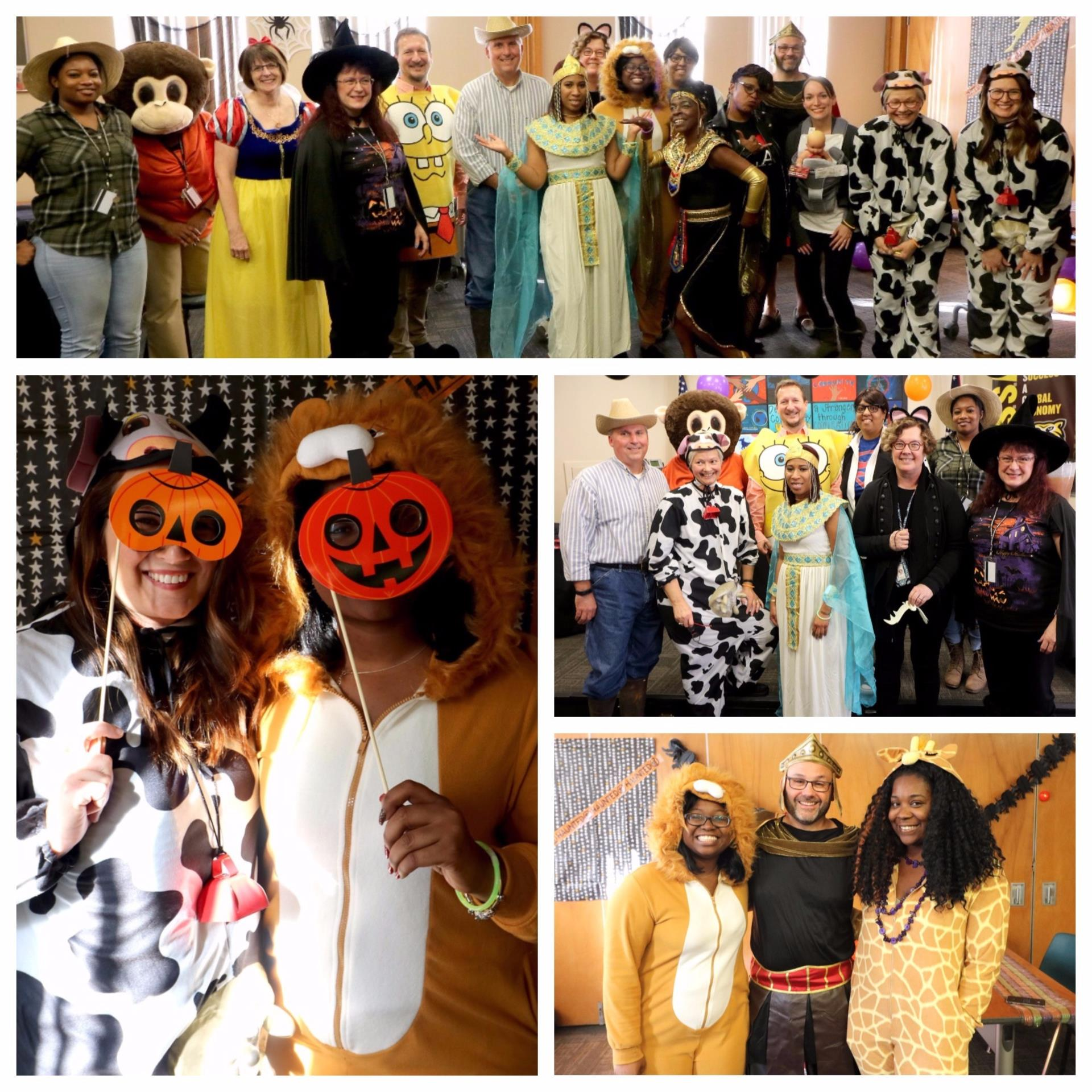 CH-UH Board of Education Halloween Costumes