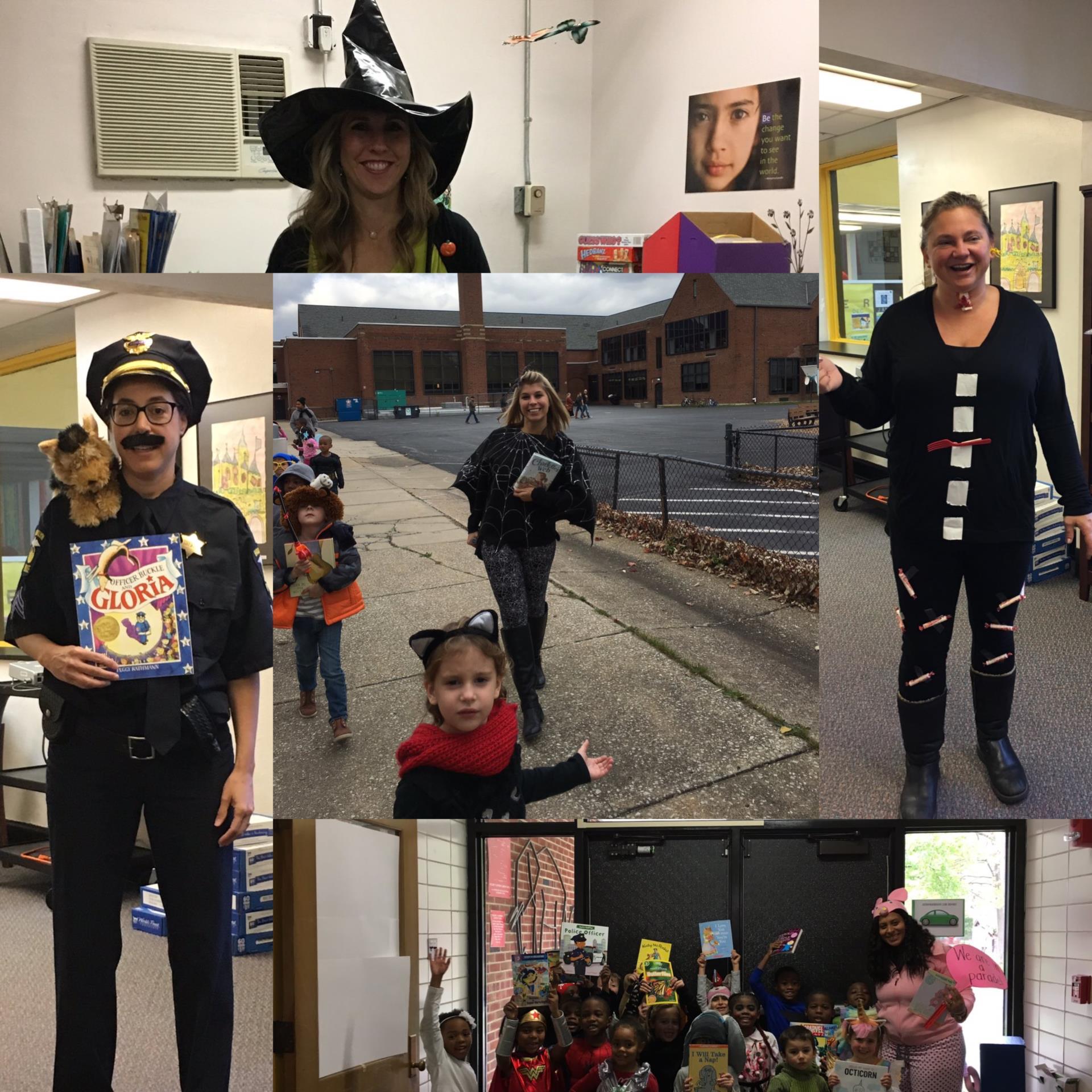 Canterbury Elementary School Halloween Costumes 2017