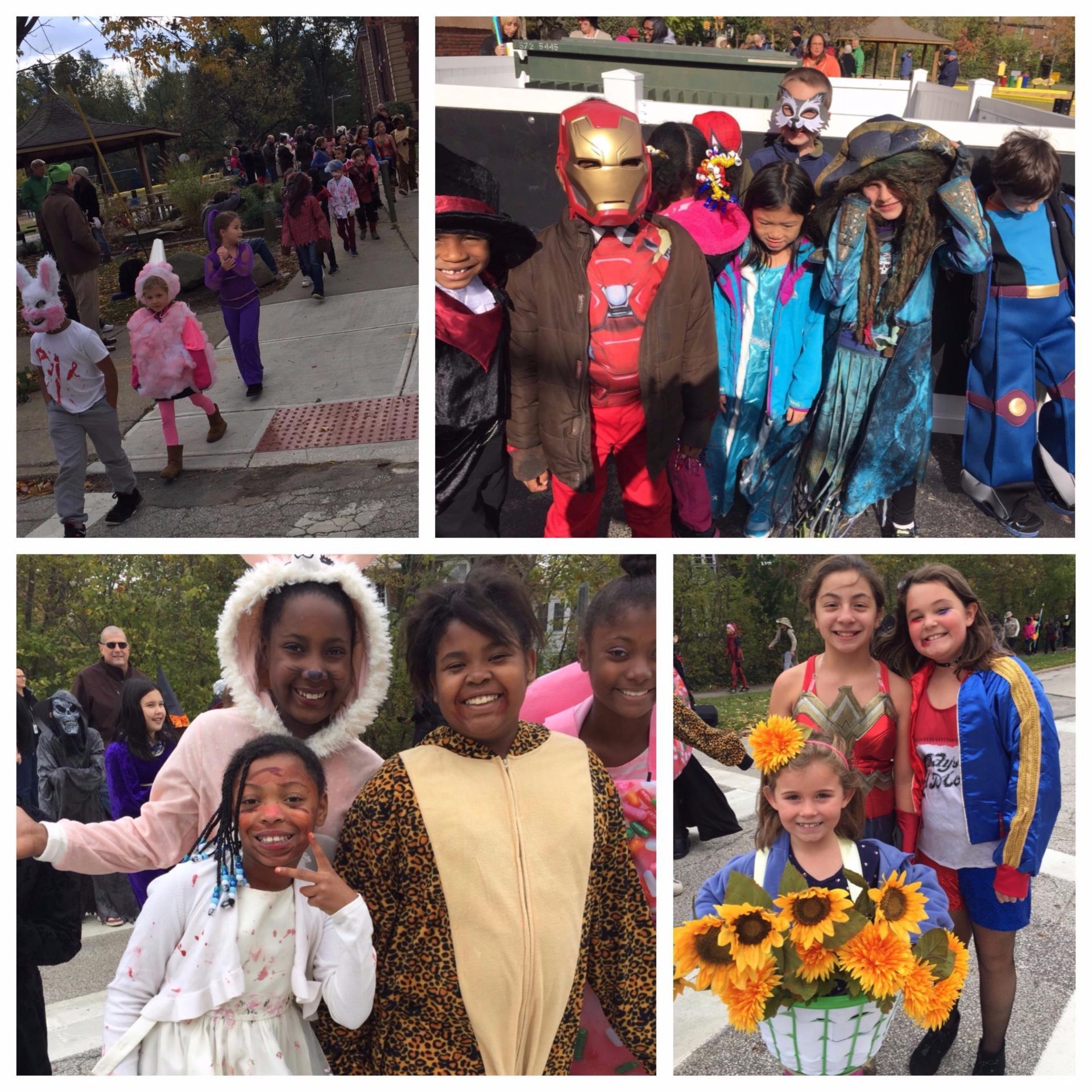 Roxboro Elementary School Halloween Costumes 2017