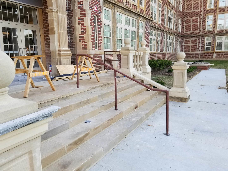 Courtyard Handrails
